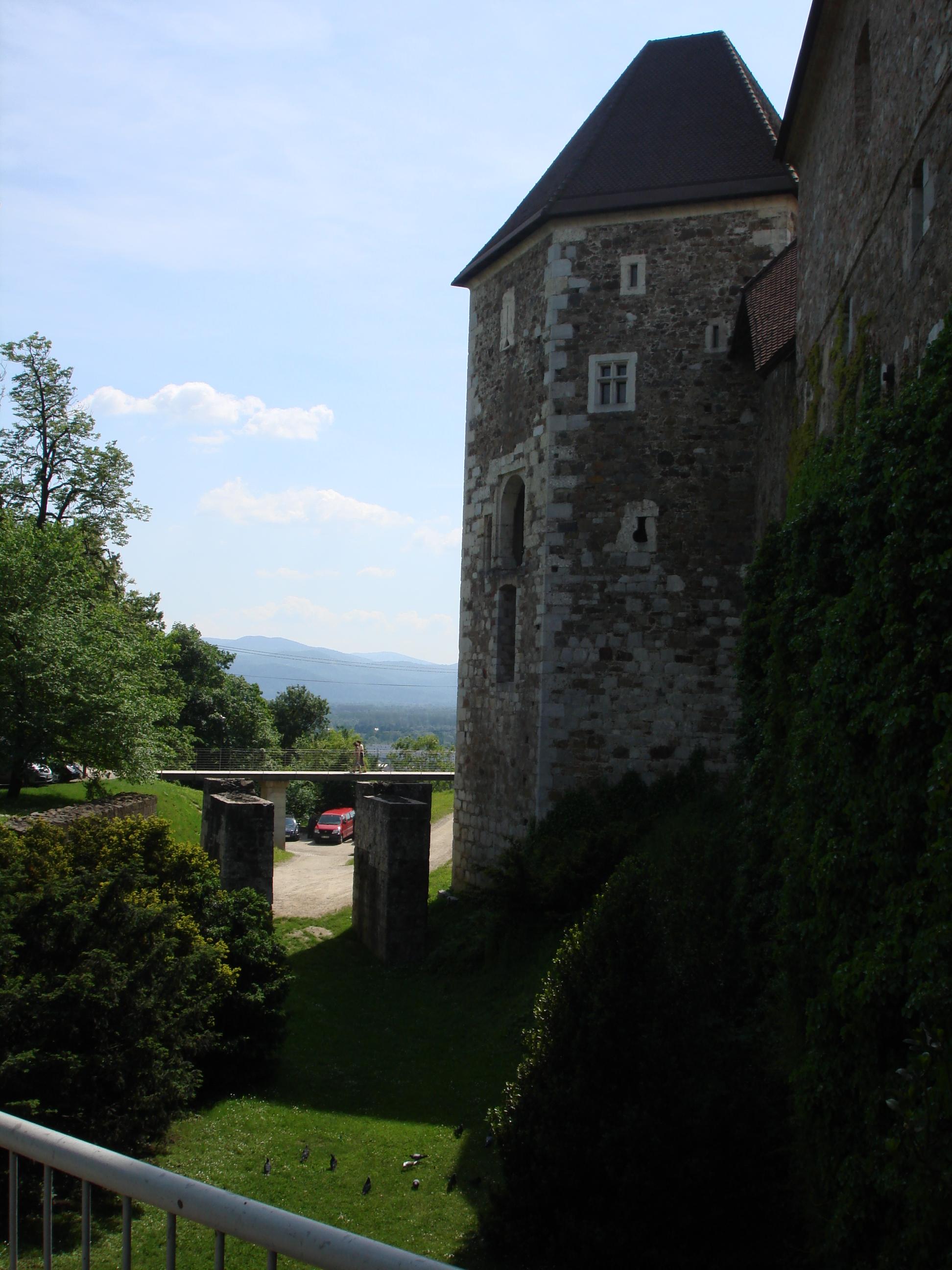 Ljubljanski Grad Wall