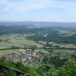 View from the top of Šmarne gore