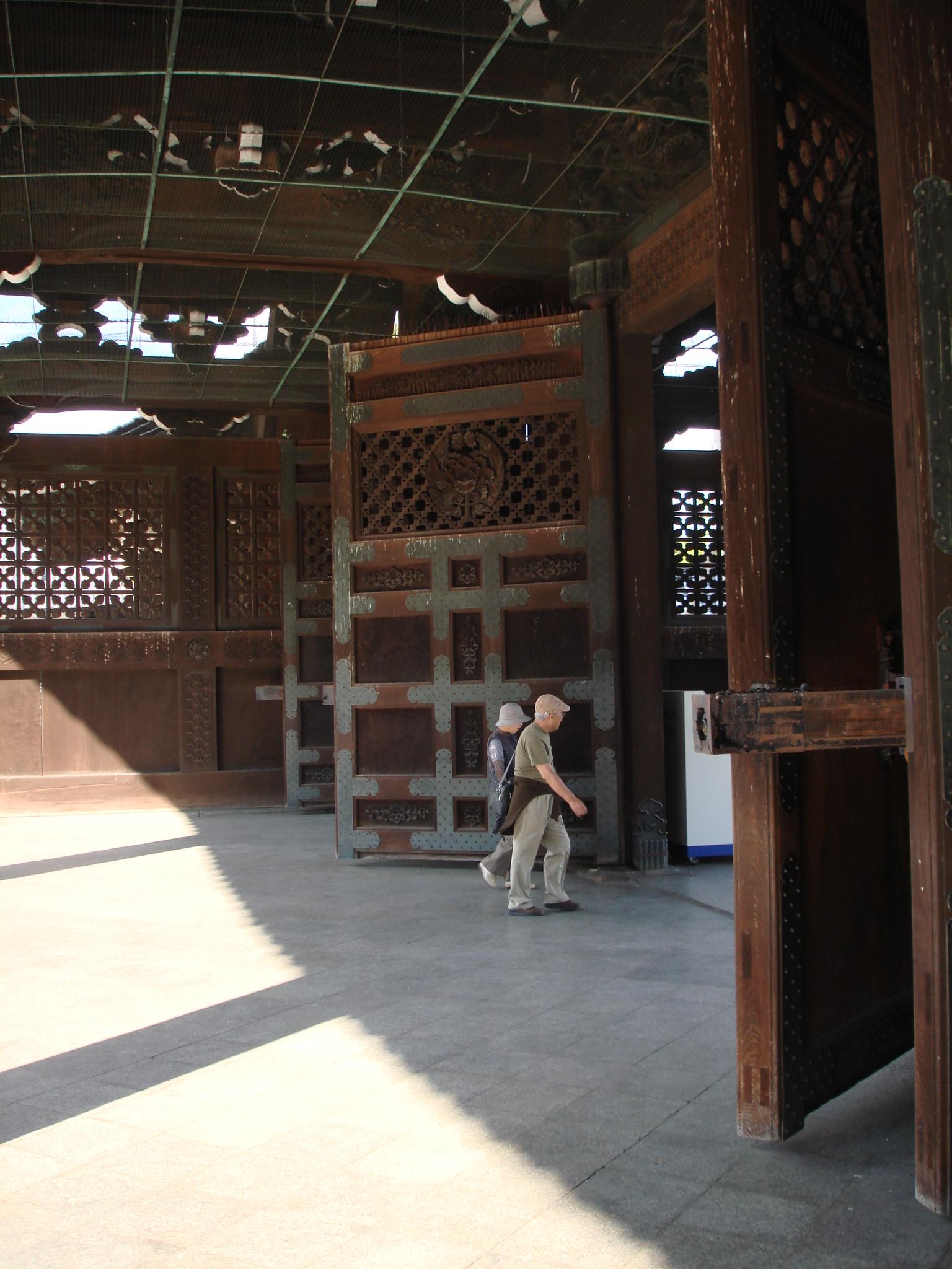 Giant Temple Doors
