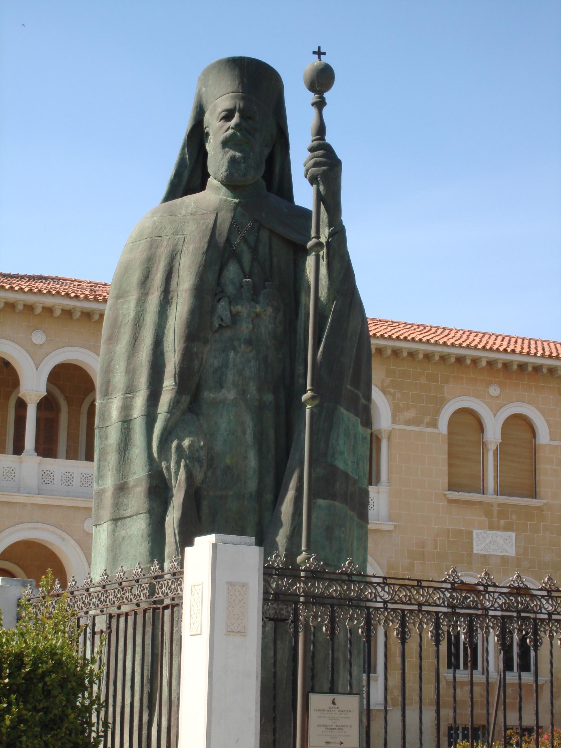 Statue of Archbishop Makarios, Nicosia