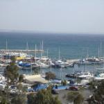 Larnaka from the balcony